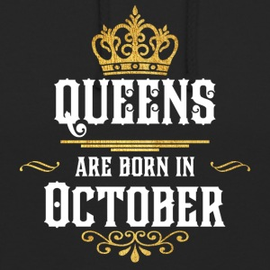 Queens Happy Birthday! Oktober! - Unisex-hettegenser