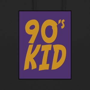 90 enfants - Sweat-shirt à capuche unisexe