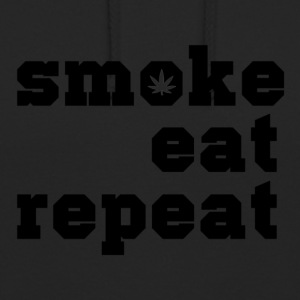 smoke eat repeat - Unisex Hoodie