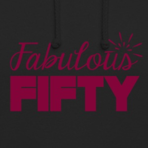 50th birthday: Fabulous Fifty - Unisex Hoodie