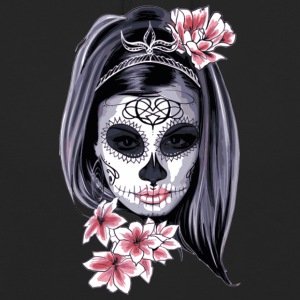The flower girl with the mask - Unisex Hoodie
