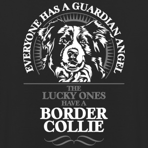 Guardian Angel Border Collie - Bluza z kapturem typu unisex