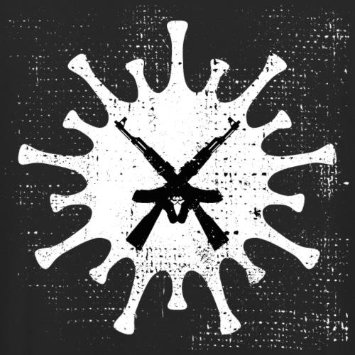 VIRUS mit gekreuzten AKs - Unisex Hoodie