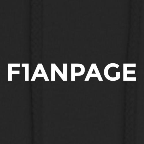 F1ANPAGE Schrift + Logo - Unisex Hoodie