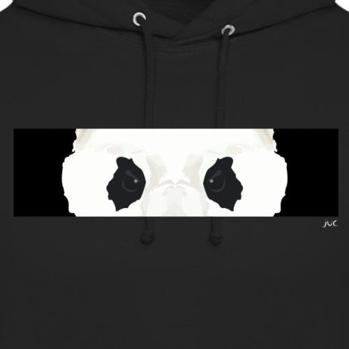 Panda Eyes BLACK - Sweat-shirt à capuche unisexe