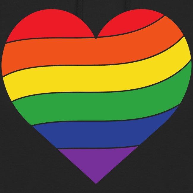 Regenbogen Herz | Pride