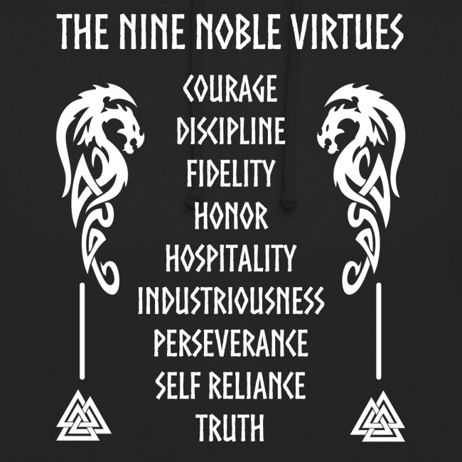Nine nobles virtues