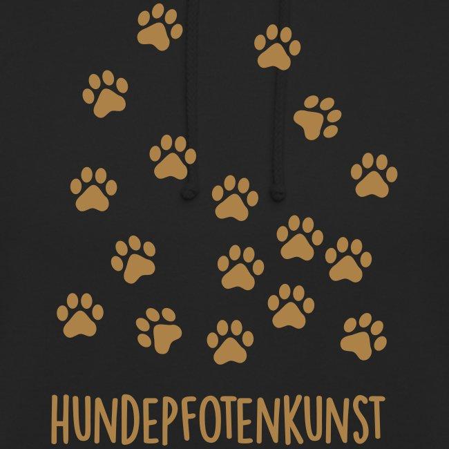 Vorschau: Hundepfotenkunst - Unisex Hoodie