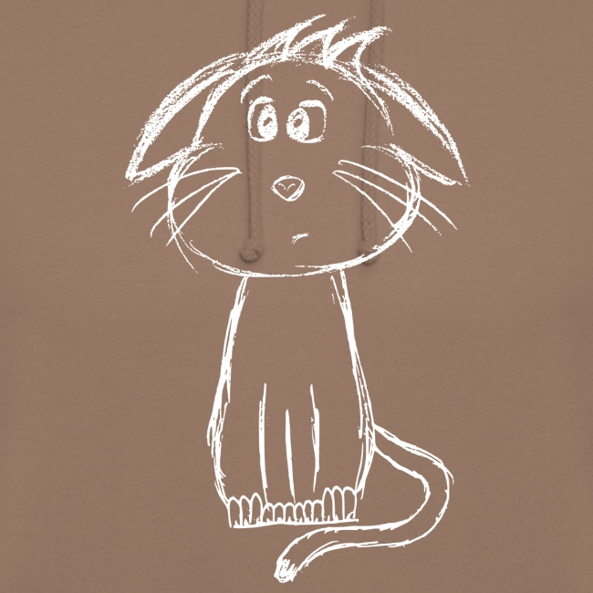 Kissa Kissanpentu valkoinen scribblesirii
