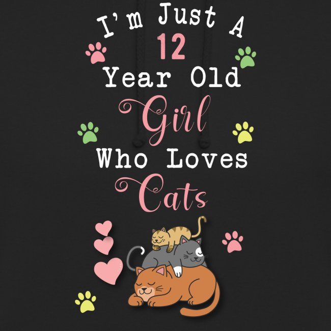 I'm just a 12 year old girl who loves cats