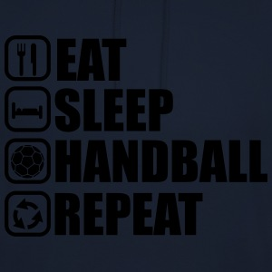Eat sleep handball repeat - Unisex Hoodie