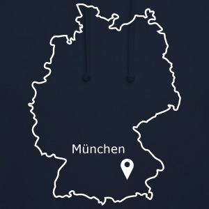 place to be: Munich - Unisex Hoodie