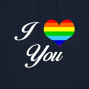 LGBT I LOVE YOU - Unisex Hoodie