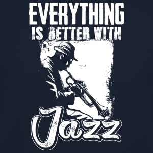 I love jazz - Sweat-shirt à capuche unisexe