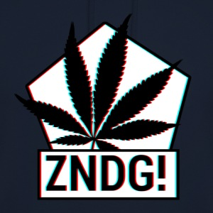 Ignition! ZNDG! feuille de cannabis - Sweat-shirt à capuche unisexe