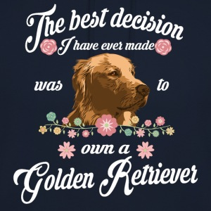 golden Retriever - Unisex-hettegenser