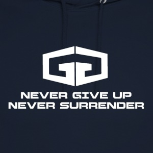 NeverGiveUp White - Unisex Hoodie