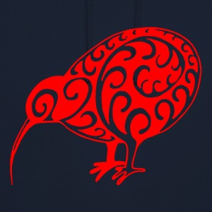 New Zealand: Kiwi in red - Unisex Hoodie