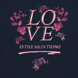 pray love roses pray jesus kirchentag church chri - Unisex Hoodie