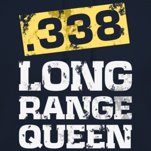 338 caliber long range rifle shooting t-shirt - Unisex Hoodie