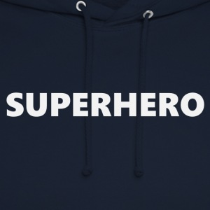 Superhero V1bkEN - Sweat-shirt à capuche unisexe