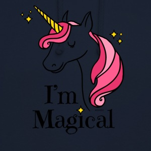 I'm Magical Unicorn T-Shirt in White - Unisex Hoodie