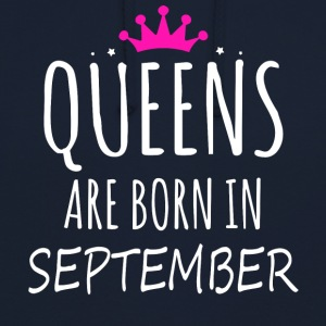 Queens are born in September - Unisex Hoodie