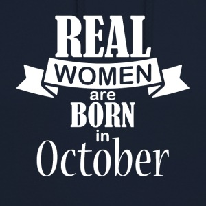 Woman October Birthday - Unisex Hoodie