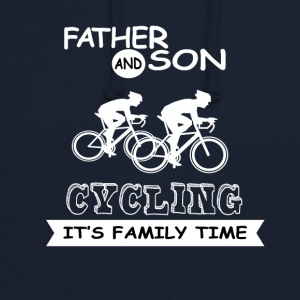 Father And Son - Cycling - Unisex Hoodie