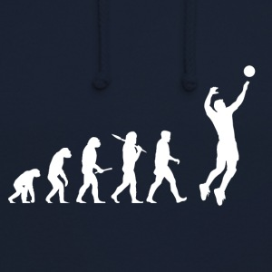 Evolution Volley-ball Man - Sweat-shirt à capuche unisexe