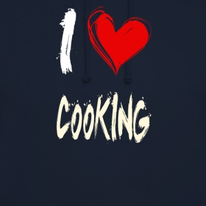 I love to cook - Unisex Hoodie