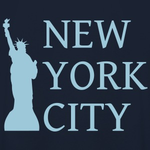New York by - Unisex-hettegenser