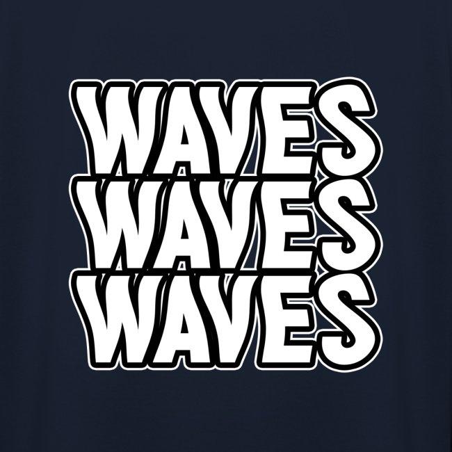 Waves Hættetrøje
