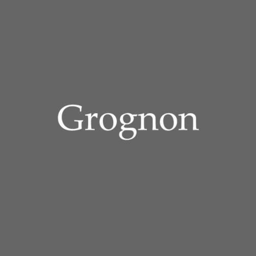 Grognon - Sweat-shirt à capuche unisexe