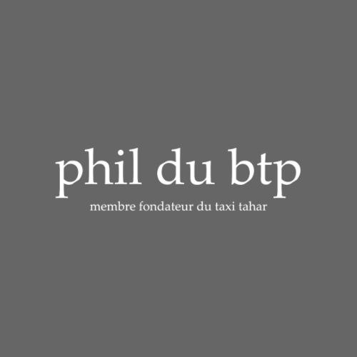 Phil du Btp - Sweat-shirt à capuche unisexe