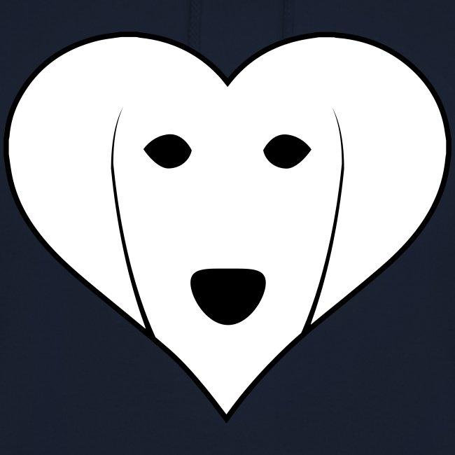 Saluki Heart