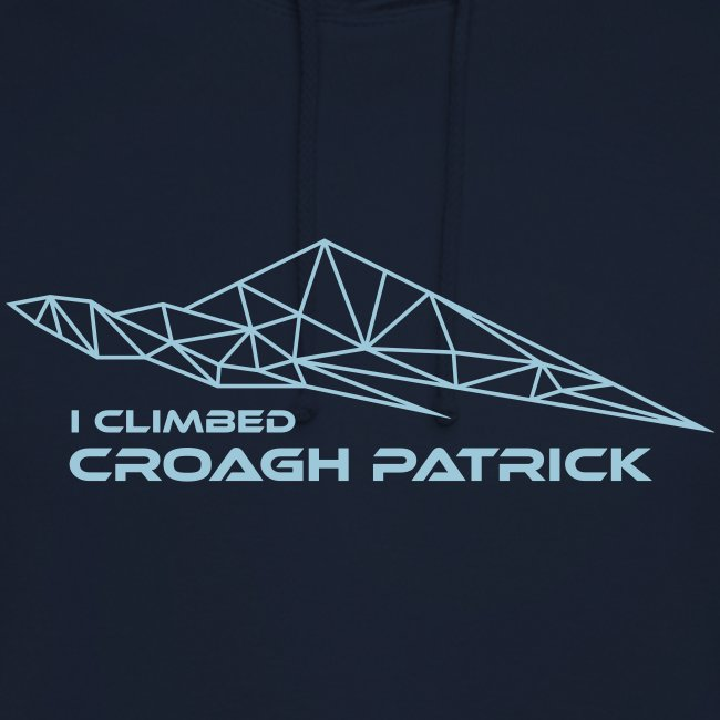 I climbed Croagh Patrick Geometric Design