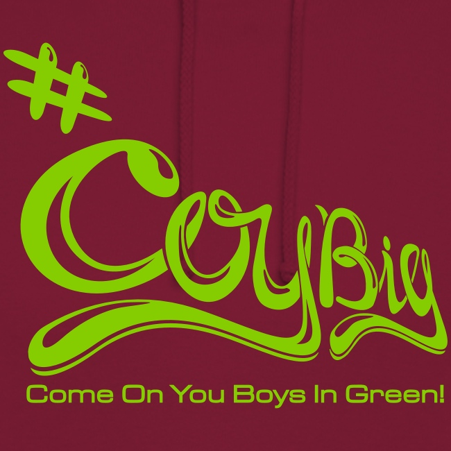 COYBIG - Come on you boys in green