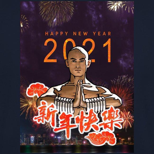 Gordon Liu as SanTe - Warrior Monk - Happy NewYear
