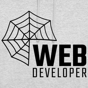 Web developer - Bluza z kapturem typu unisex