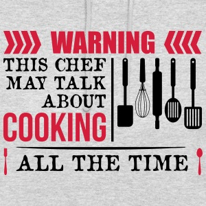 This Chef talk about Cooking - Unisex Hoodie