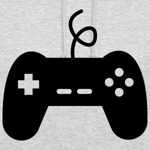 game console joystick geek video gamer - Unisex Hoodie
