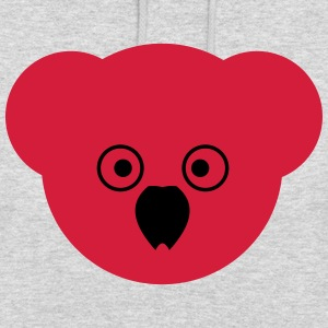 KOALA rouge - Sweat-shirt à capuche unisexe