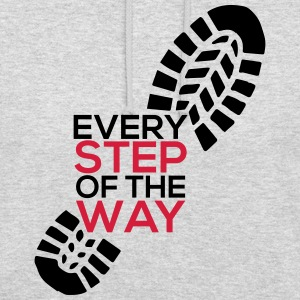 Every step of the way - Unisex Hoodie