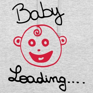 Baby loading - Current Baby - pregnancy - Unisex Hoodie