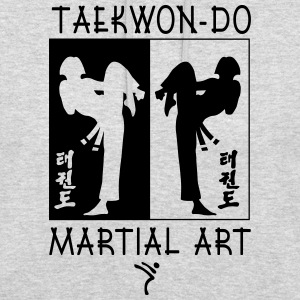 Taekwondo Martial Art for Girls - Unisex Hoodie