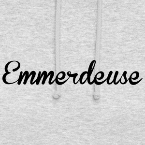 Emmerdeuse - Sweat-shirt à capuche unisexe