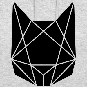Abstract cat - Unisex Hoodie