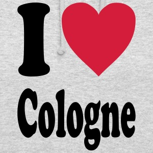 J'adore Cologne - Sweat-shirt à capuche unisexe