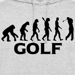 Evolution Golf Golfer Golfen bt - Unisex Hoodie